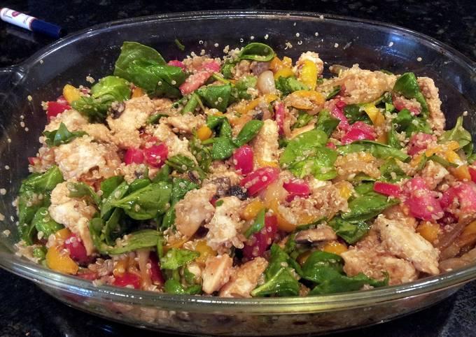 Chicken and Quinoa Casserol