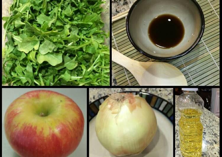 Recipe of Top-Rated Watercress Salad