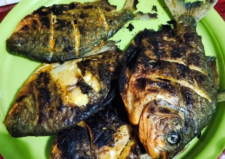 Ikan Bawal / Nila Bakar Home made super simple