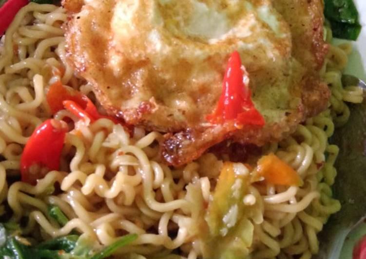 Resep Indomi goreng setan super simpel Terbaik