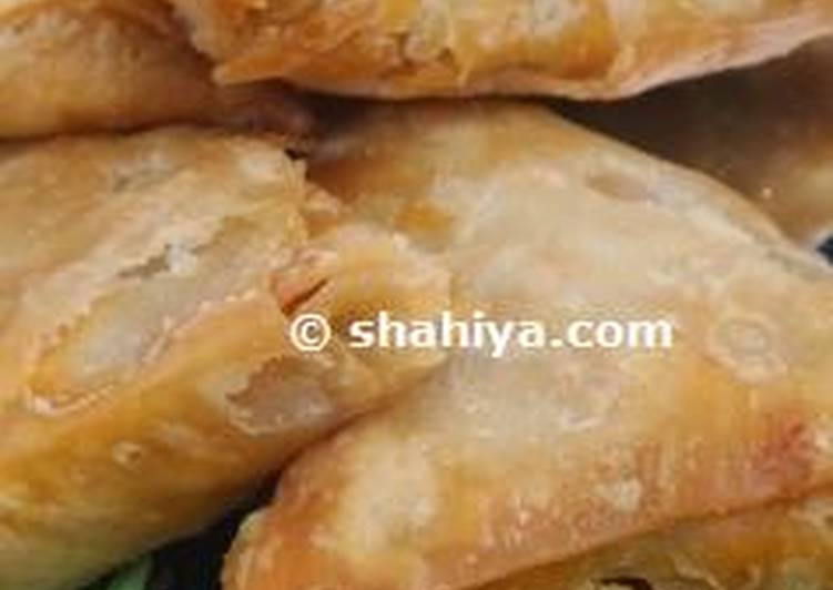 How to Prepare Super Quick Homemade Crunchy Saudi Samosa