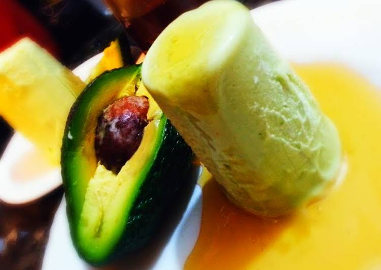 Use Food to Boost Your Mood fat free Avocado kulfi