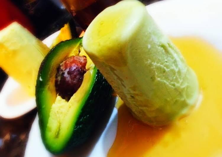 fat free Avocado kulfi
