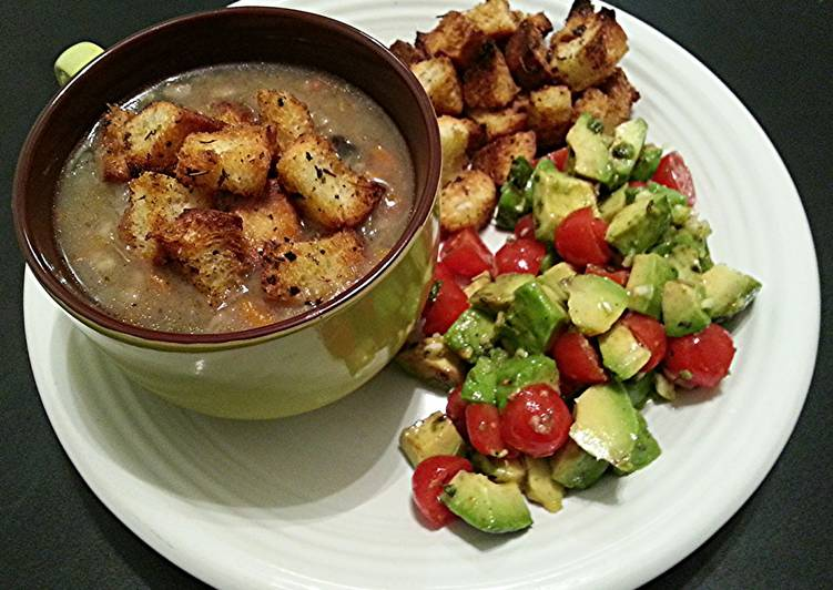 Homemade Seasoned Croutons for Soup & Salad, Choosing Fast Food That's Very good For You
