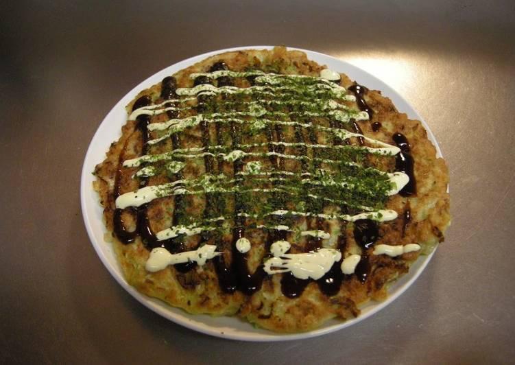 10 Minute Recipe of Favorite Standard Okonomiyaki