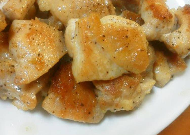 Tasty and Refreshing Salt and Lemon Chicken