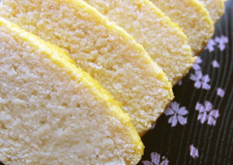 Low-Sugar Okara Pound Cake