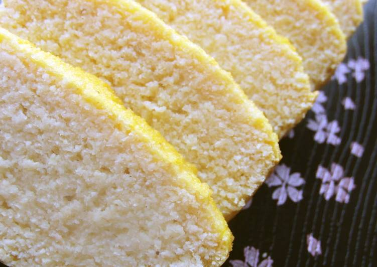 Easiest Way to Make Speedy Low-Sugar Okara Pound Cake