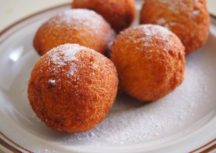 Flour & Sugar Free - Crispy and Fluffy Okara Doughnut Holes - Laurie G Edwards