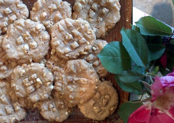 How to Prepare Homemade Quick-N-Easy Peanut Butter Cookies