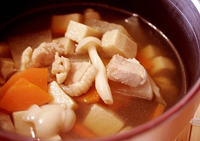 Warming Soup for Soba