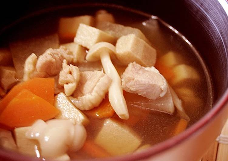 15 Minute Recipe of Royal Warming Soup for Soba