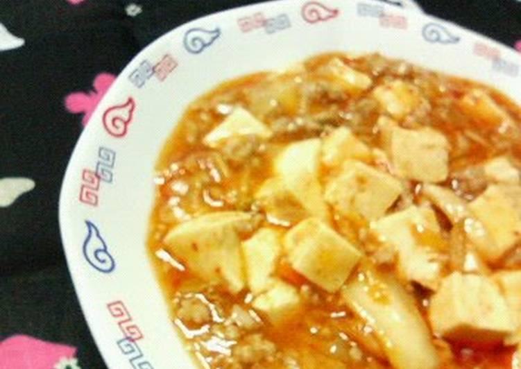 How to Make Perfect Spicy Kimchi Mapo Tofu
