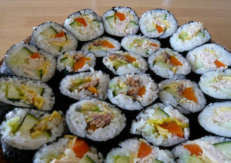 Recipe of Any-night-of-the-week California Rolls
