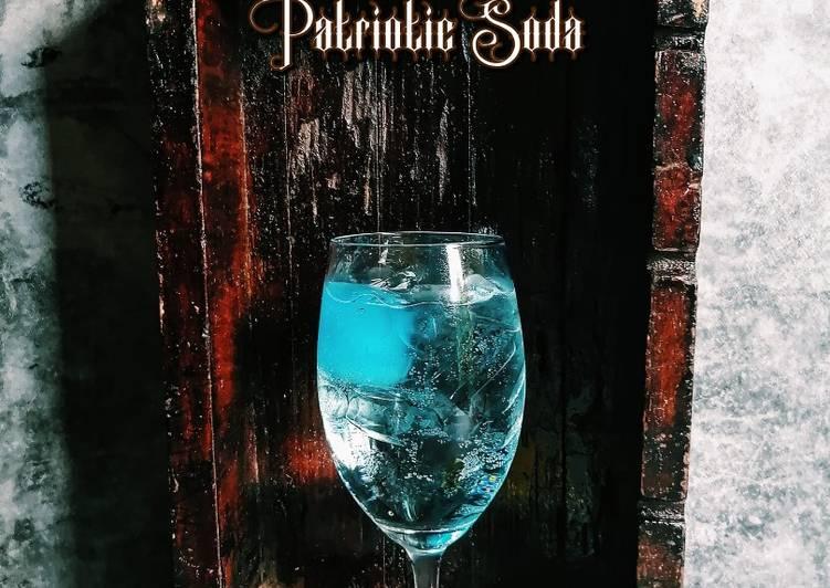 Patriotic Soda Mudah Dan Ringkas - resepipouler.com