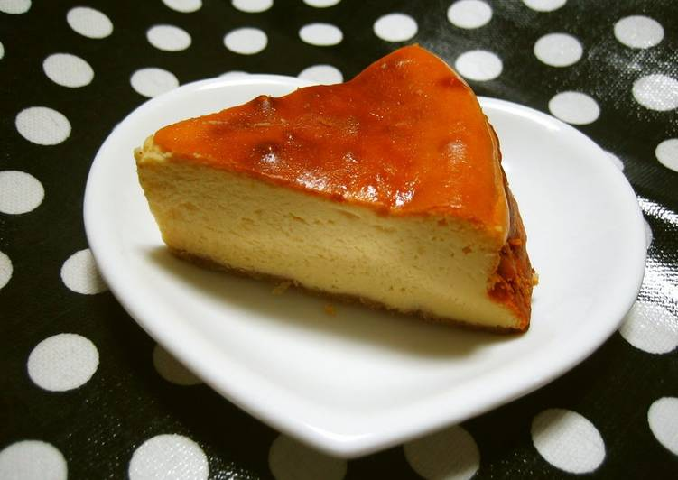 Step-by-Step Guide to Prepare Quick Super Easy Baked Cheesecake