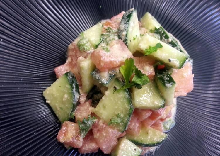 Simple Way to Prepare Perfect Tahini Salata (Jerusalem Salata)
