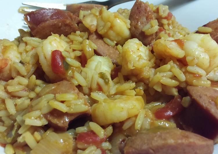 Top 100 Dinner Ideas Homemade Busy day Shrimp & Sausage Jambalaya