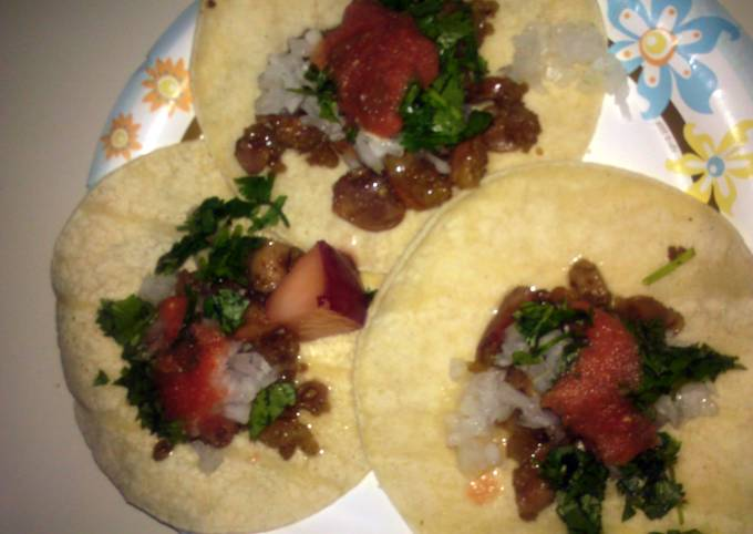 how to prepare and cook beef intestines for tacos