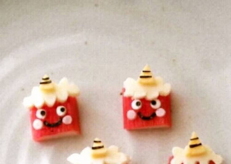 Setsubun Character Bento Crabstick Demons, Helping Your Heart with Food