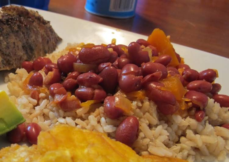Easiest Way to Cook Yummy Puertorican WHITE Rice and Beans
