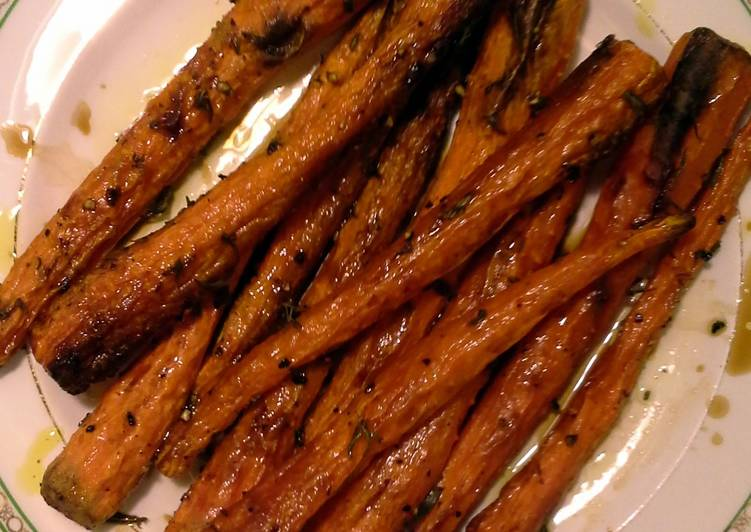 Sweet As Candy Roasted Carrots