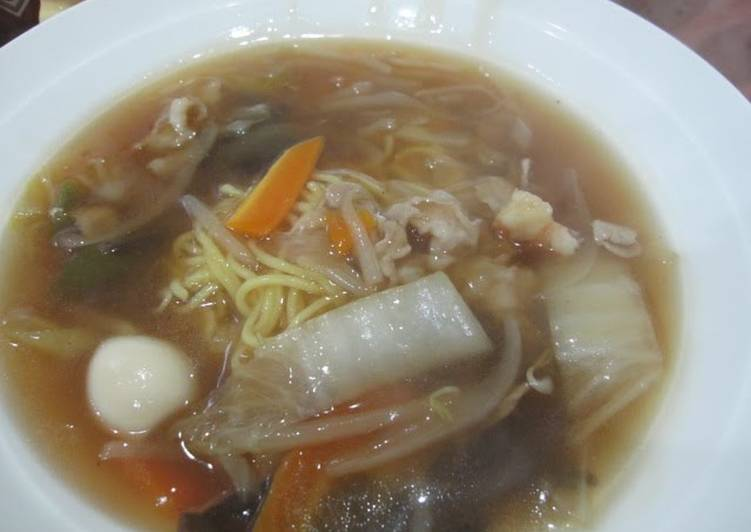 Cantonese Noodles- Authentic Chinese Food at Home