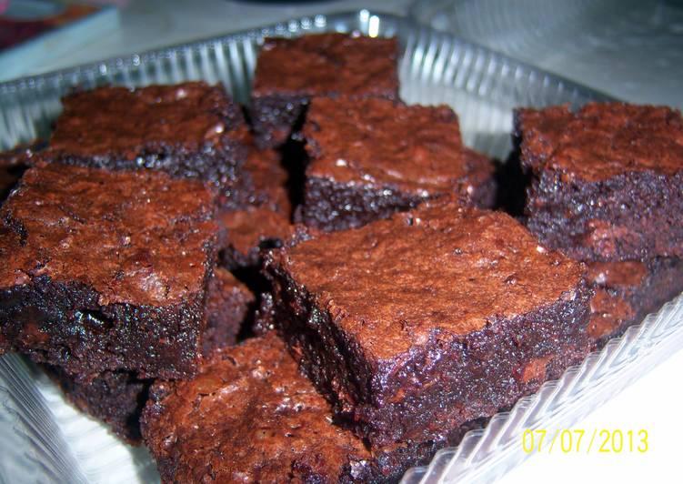 25 Minute Easiest Way to Prepare Diet Perfect Sobzee's Amazing Brownies
