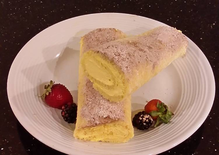 Lemon Cake Roll