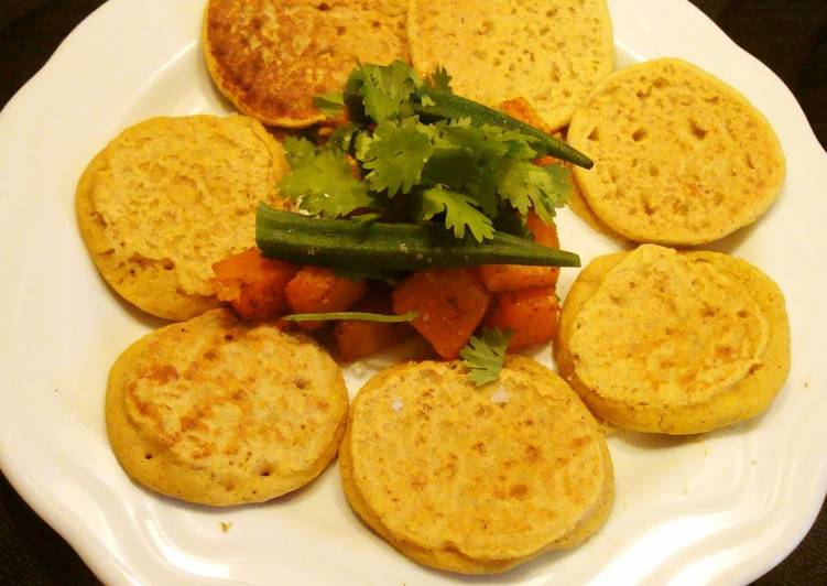 Chickpea Pancakes, Egg- and Milk-Free