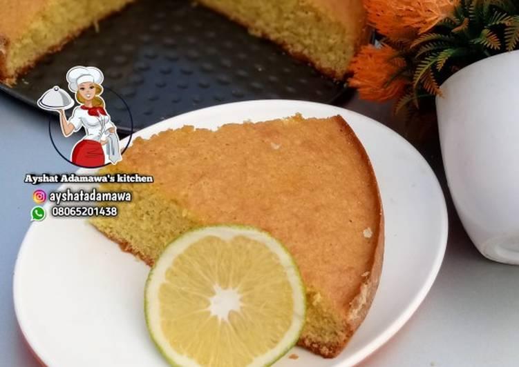 Easiest Way to Make Any-night-of-the-week Orange cake