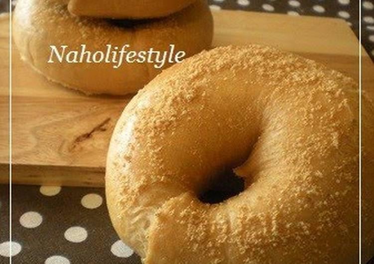 Kinako Roasted Soy Flour Bagels