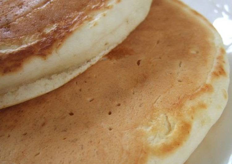 Soft Fluffy Whey Pancakes