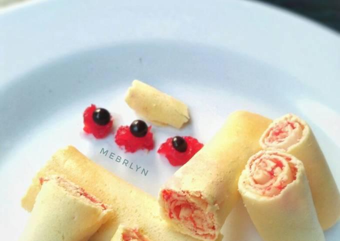 Semprong Basah Strawberry