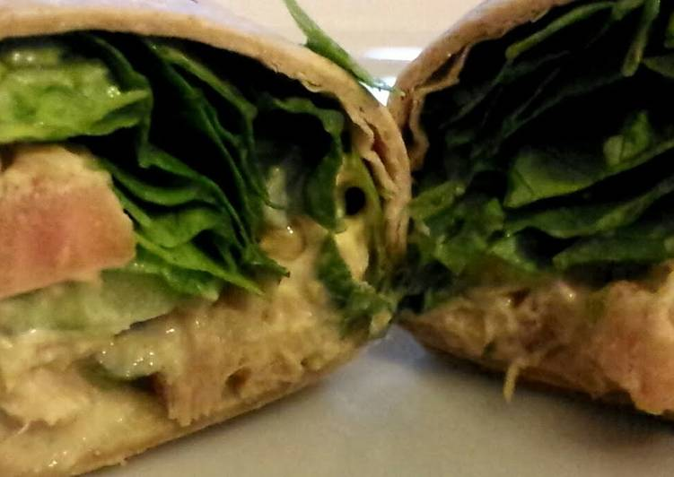 Simple Way to Prepare Any-night-of-the-week Tuna Salad Wrap