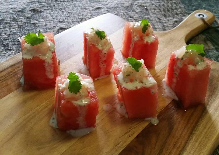 How to Prepare Perfect Watermelon nibbles
