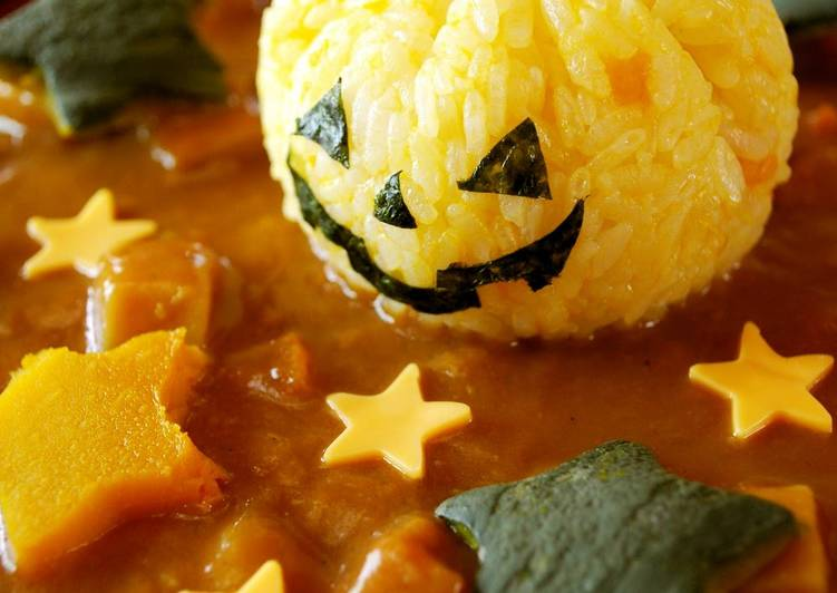 Recipe: Appetizing Halloween Jack-o'-Lantern Curry