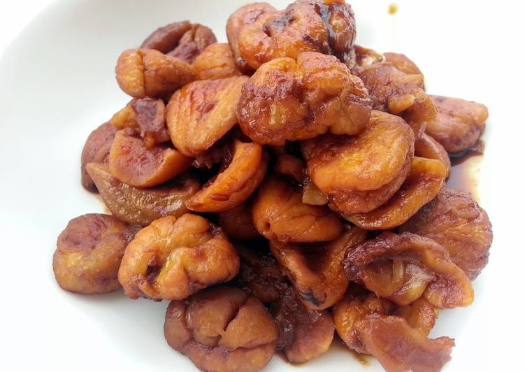 Healthy Recipe: Perfect Caramelized Chestnut Appetizer