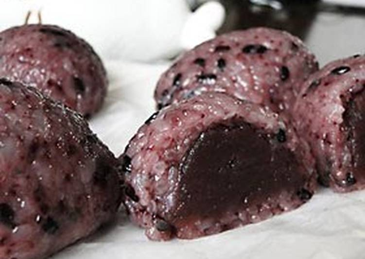 Your State Of Health Can Be Affected By The Foods You Decide To Consume Black Rice and Koshi-an Koshi-An Ohagi