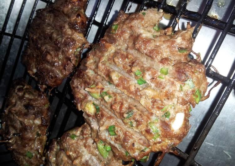 Recipe: Appetizing Green onion burgers