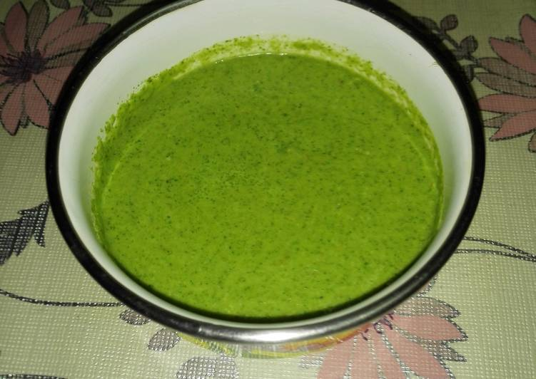 30 Minute Steps to Prepare Spring Indian Mint chutney