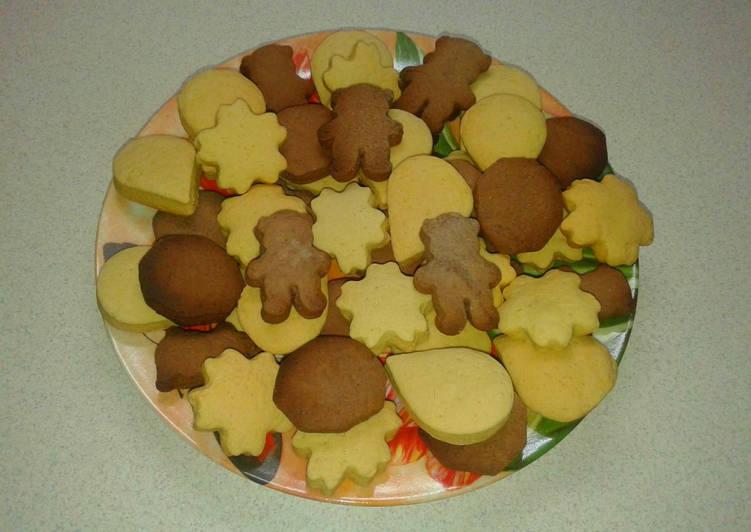 Печенье курабье на маргарине рецепт с фото - 1000.menu | 532x751
