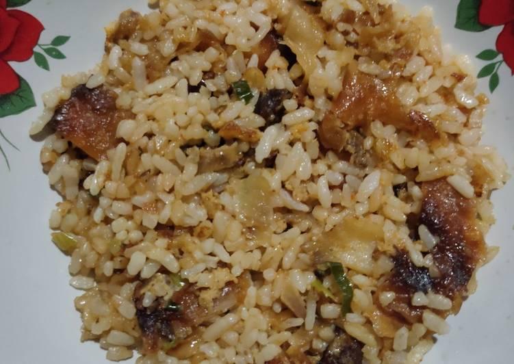 Nasi Goreng Martabak Daging Sapi