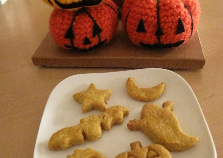 Discover How to Improve Your Mood with Food For Halloween! Kabocha Okara Cookies