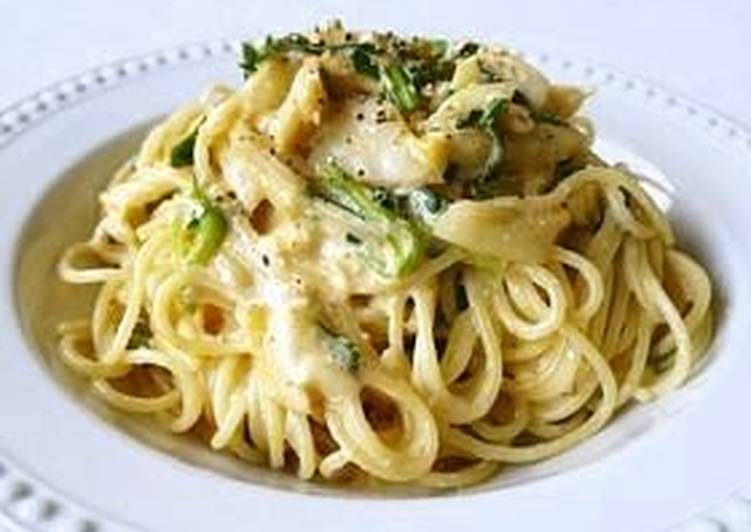 Easiest Way to Cook Perfect Kimchi Cream Pasta