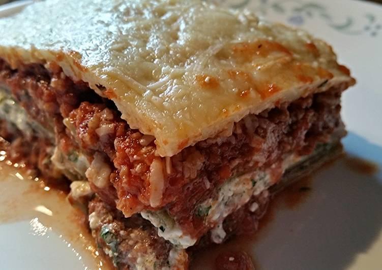 Jason's best Lasagna