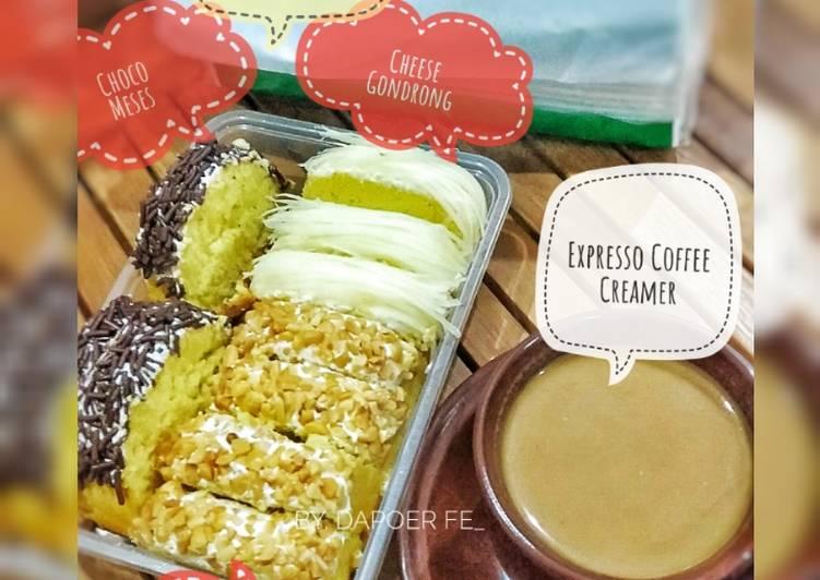 Bolu Jadul Kukus (solmetnya coffee creamer 😄)