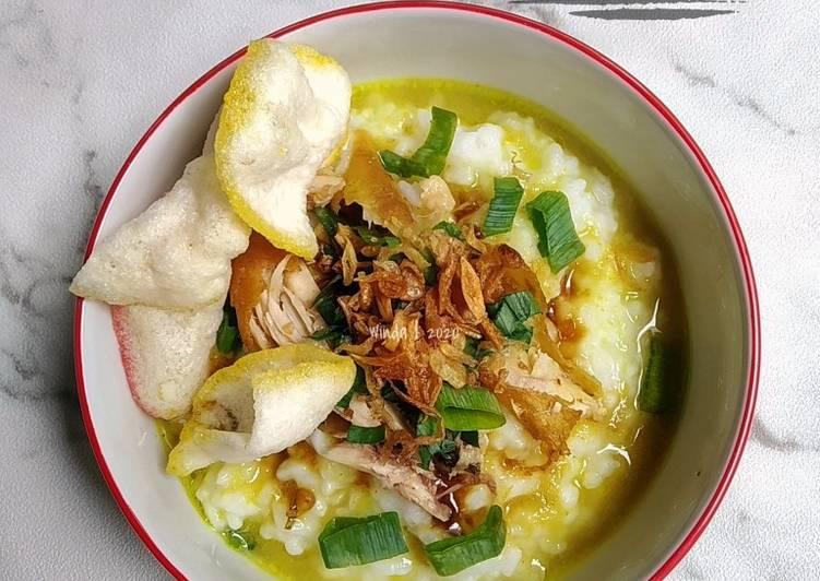 29. Bubur Ayam Kuah Kuning