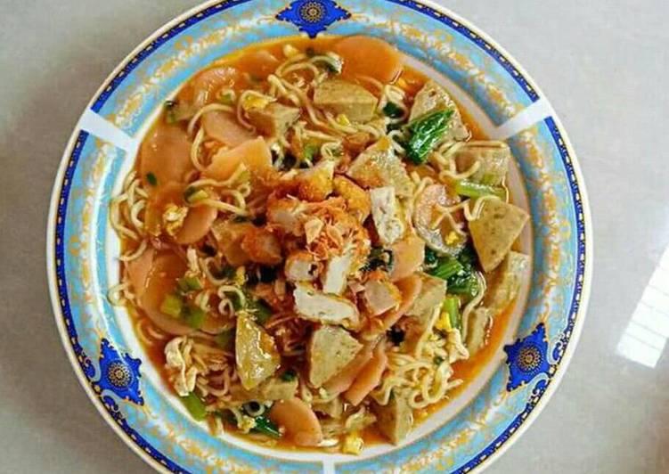 Resep Seblak Mie Kerupuk oleh Dini Han-han - Cookpad