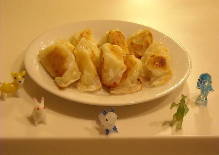 How to Make Any-night-of-the-week ☆Crispy Potato Gyoza☆